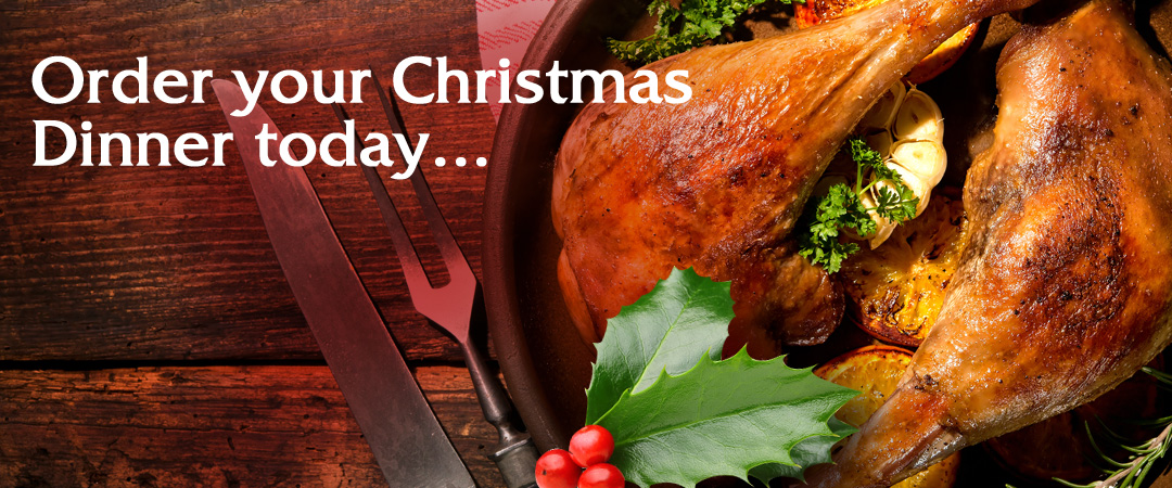 Order Your Christmas Dinner from Luceys for the Christmas Season