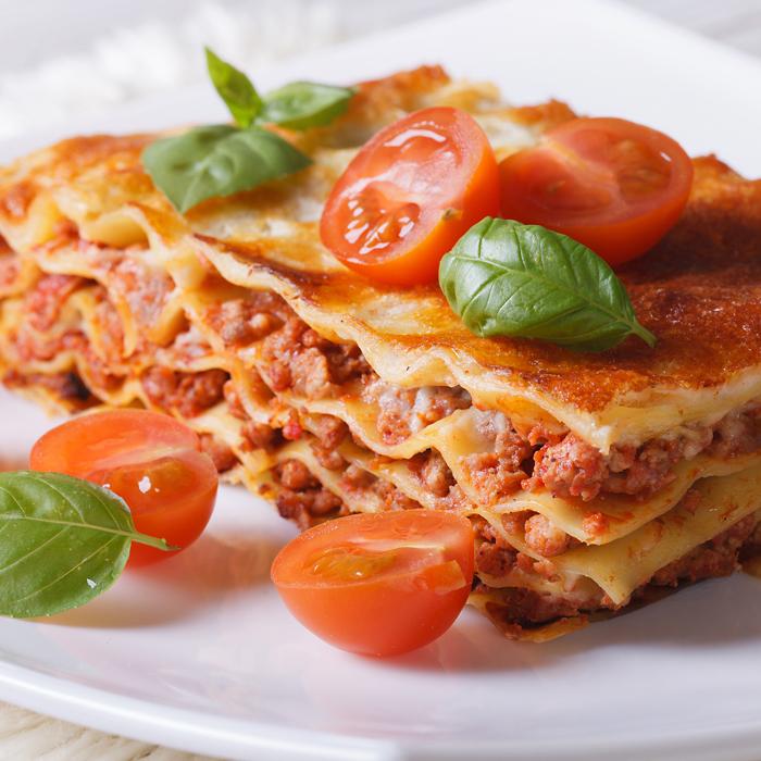 Rich Creamy Lasagne