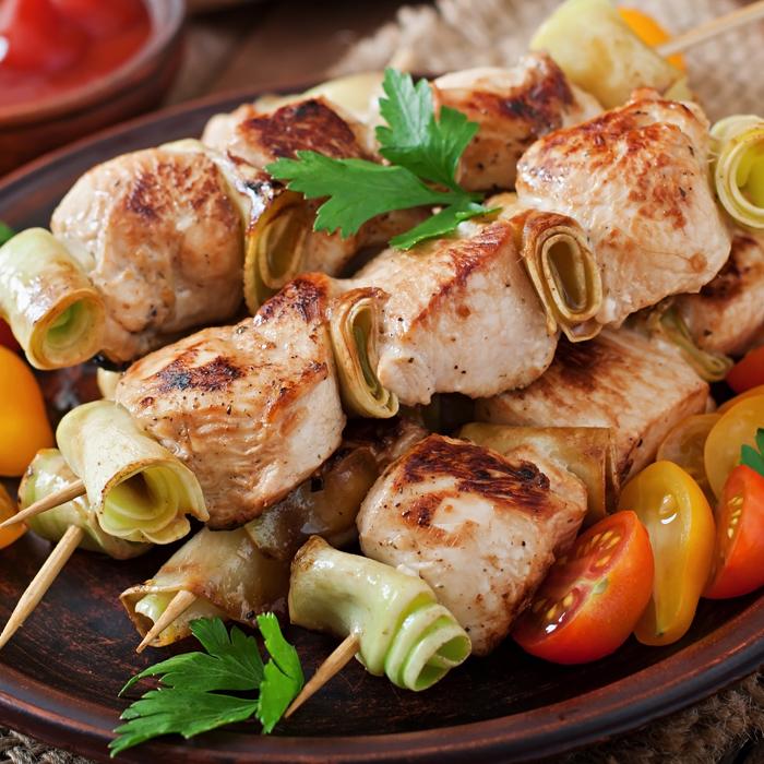 Luceys BBQ Kebabas