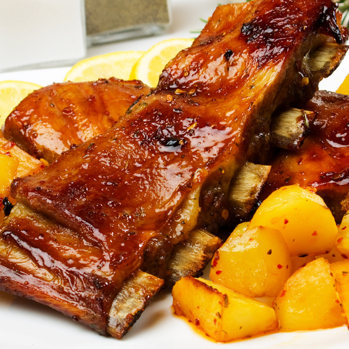 Honey Glazed Ribs