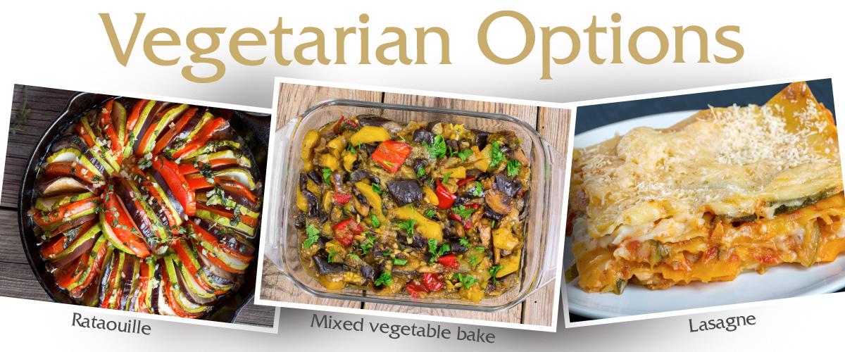 Luceys Vegetarian Options