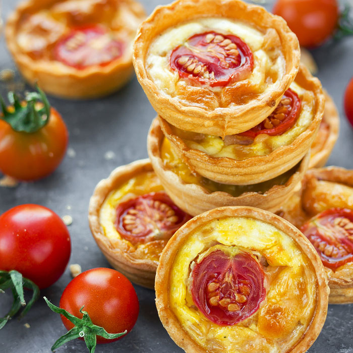 Christmas Cheese Tartlets