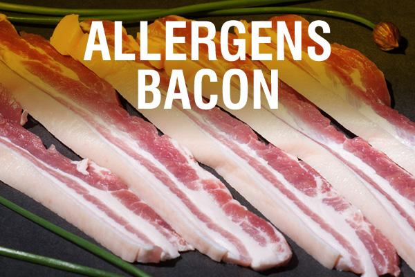 Allergens Bacon
