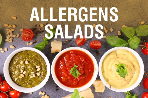 Allergens Salads