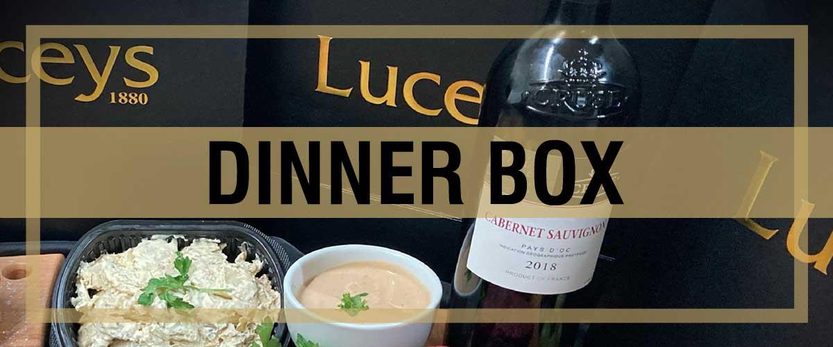 Luceys Good Food Dinner Box
